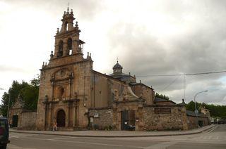Chiesa e albergue cacabelos