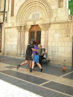 Esperti ballerini di tango argentino